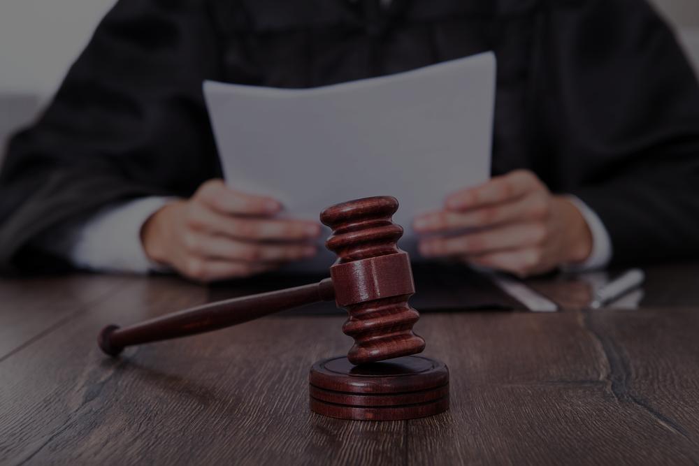 judge deciding what will happen