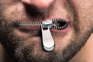 stay quiet when alsely accused of assualt and battery